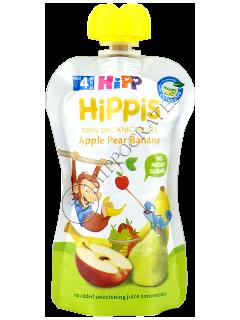 ХИПП Фруктовый сюрприз  - Яблоко, груша, банан (12 месяца)