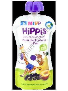 ХИПП  Фруктовый сюрприз ХиПП  - Слива, черная смородина в грушевом пюре (12 месяца)