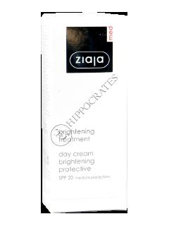 Зиажа Med Whitening крем дневной  защитный  50 мл