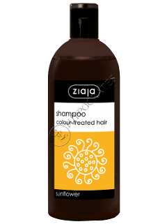 Зиажа Шампунь с подсолнечником для окрашенных волос
