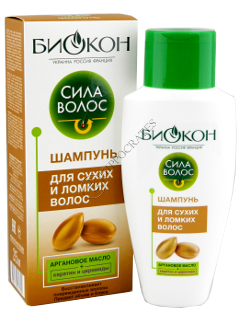 Биокон Сила Волос шампунь для сухих и ломких волос