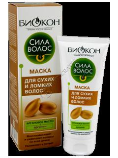 Биокон Сила Волос Арган маска для сухих и ломких волос
