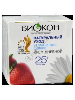 Biokon  Naturalinîi Uhod  25+ crema de zi Hidratare/Stralucire