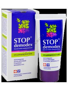 Стоп DEMODEX бальзам для лица и тела