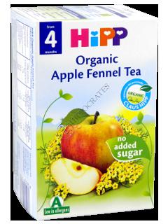 ХИПП Чай орг. в пакетиках - фенхель  с яблоком (4-ти мес)