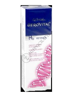 Gerovital H3 Retinol crema antirid contur ochi
