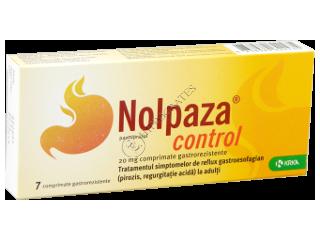 Нолпаза контроль