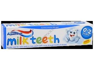Зубная паста детская Аквафреш Milk Teeth 0-2 лет