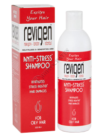 Ревиген Антистресс шампунь для жирных волос