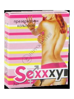 Презервативы Sexxxy Classic № 3