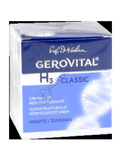 Gerovital H3 Classic crema lifting restructuranta de noapte