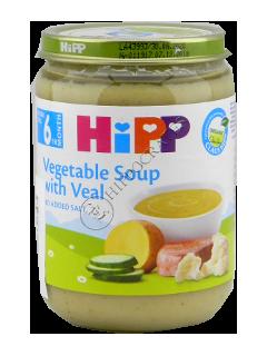 HIPP Пюре суп овощной с индюшатиной