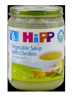 HIPP Пюре Суп овощной с куриным мясом