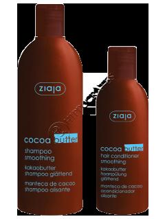 Зиажа Cocoa Butter Шампунь для волос + бальзам для волос