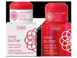 Зиажа Rose butter крем дневной увлажн.(30+)+ крем ночной