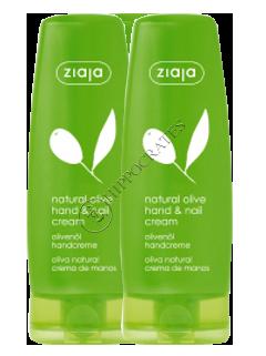 Зиажа Natural Olive крем для рук и ногтей +крем для рук