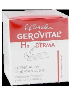 Геровитал Н3 Дерма+ активная гидратация 24 часа