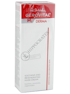 Gerovital H3 Derma+ crema  masca calmanta regeneranta