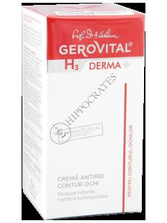 Gerovital H3 Derma+ crema antirid contur ochi