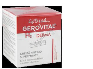 Геровитал H3 Дерма+ тонизирующий крем от морщин