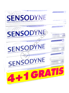 Зубная паста Сенсодин Whitening 4+1