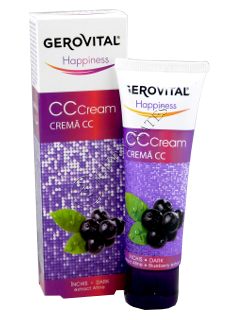 Gerovital Happiness crema CC (inchis) extract afine