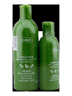 Зиажа Natural Olive  Шампунь для волос  + Кондиционер для волос