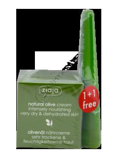 Зиажа Natural Olive  крем для лица + крем для рук