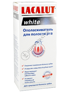 Ополаскиватель для пол. рта LACALUT White