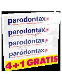 Зубная паста Пародонтакс Gentle White 4+1