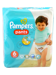 Pampers PANTS 6 №19  16+kg