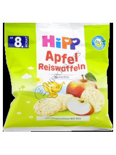 HIPP Рисовые лепешки с яблоками для детей от 8 месяцев