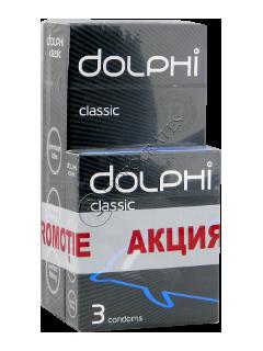 Prezervative Dolphi Classic № 12 + Prezervative Dolphi № 3