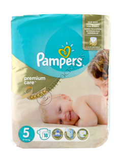 Pampers JUNIOR 5 Premium Care № 18  11-18kg