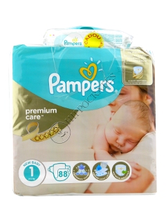 Pampers New Baby 1 Premium Care № 22  2-5kg