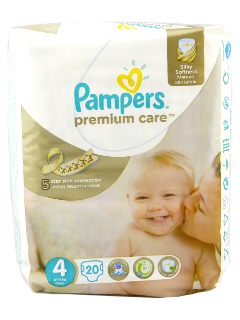 Pampers Maxi 4 Premium Care № 20 7-14kg