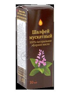 Oleum Salviae officinalis (шалфей) 100% 10 мл Синам