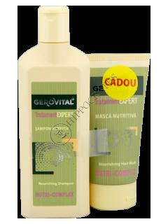 Gerovital Tratament Expert Pachet Promo sampon nutritiv +masca nutritiva