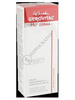 Геровитал H3 Derma+ крем против купероза увлажн. SPF10, 50 мл