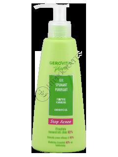 Gerovital Plant Stop Acnee gel spumant purifiant