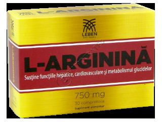 L-arginina 750 mg