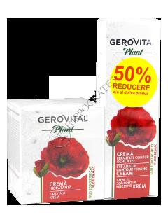 Gerovital Plant Pachet promo FM(crema hidratanta+crema contur ochi buze)