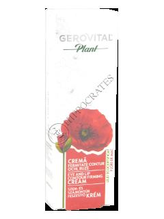 Gerovital Plant crema fermitate contur ochi si buze