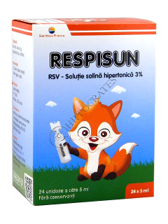 Respisun Unidoze (solutie hypertonica 3%)