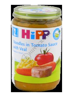 HIPP Пюре Овощи лапща и телятина