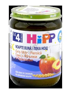 HIPP пюре Спокойной Ночи яблоко-персик