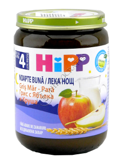HIPP Пюре Спокойной Ночи яблоко-груша