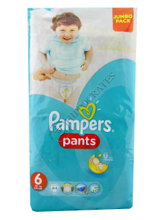 Pampers Pants 6 № 44 16+kg chilotei