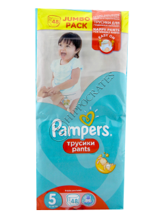 Pampers Pants 5 № 48 12-18kg chilotei