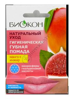 Биокон Бальзам для губ Манго+Инжир